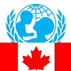 Donate with bitcoin to Unicef Canada