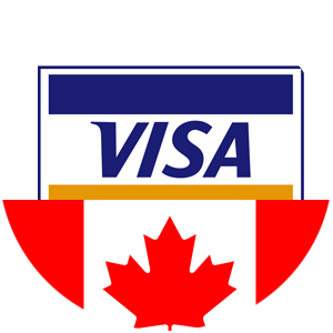Pay your Canadian VISA with bitcoins